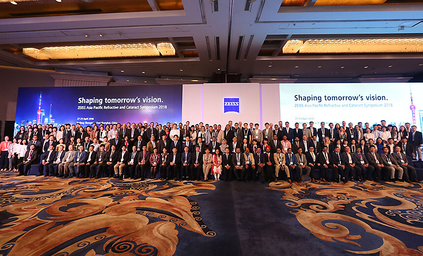 Delegates at the Carl Zeiss Meditec Asian Leaders' Meeting
